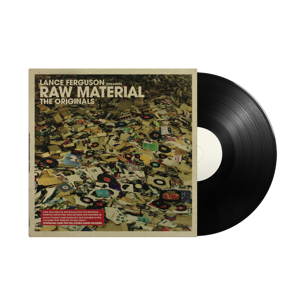 Lance Ferguson 'Raw Materials' / LP 12""