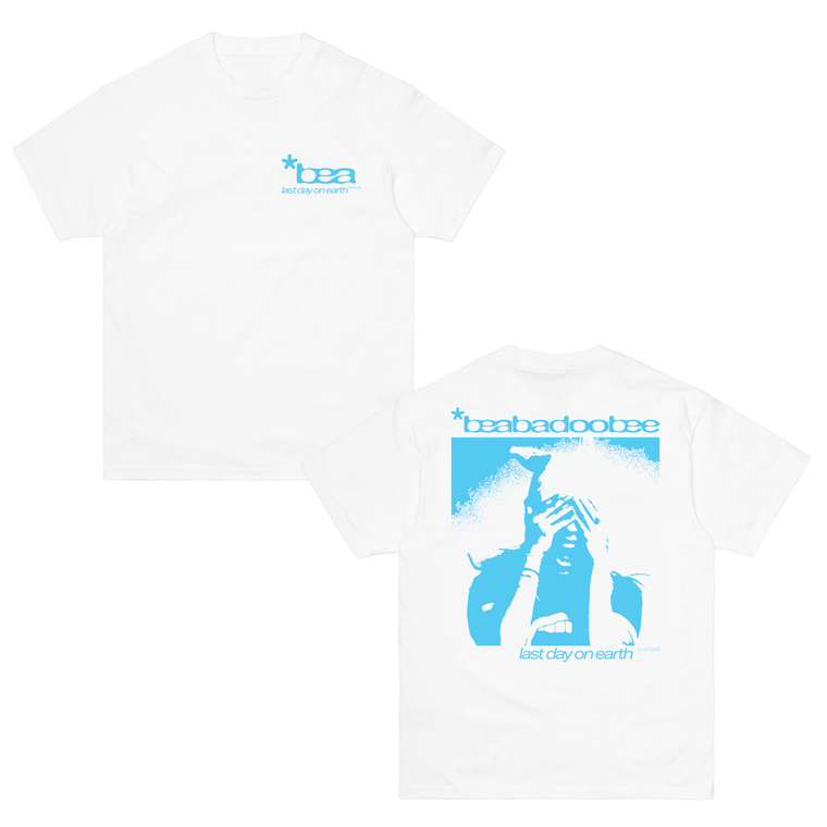 Last Day On Earth / White T-Shirt