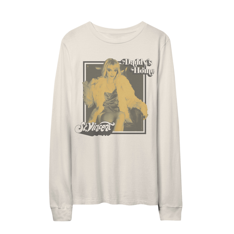 Daddy's Home / White Long Sleeve ***PRE-ORDER***