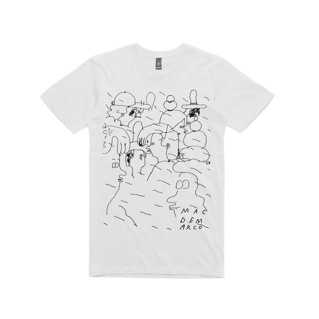 People Doodle / White T-shirt