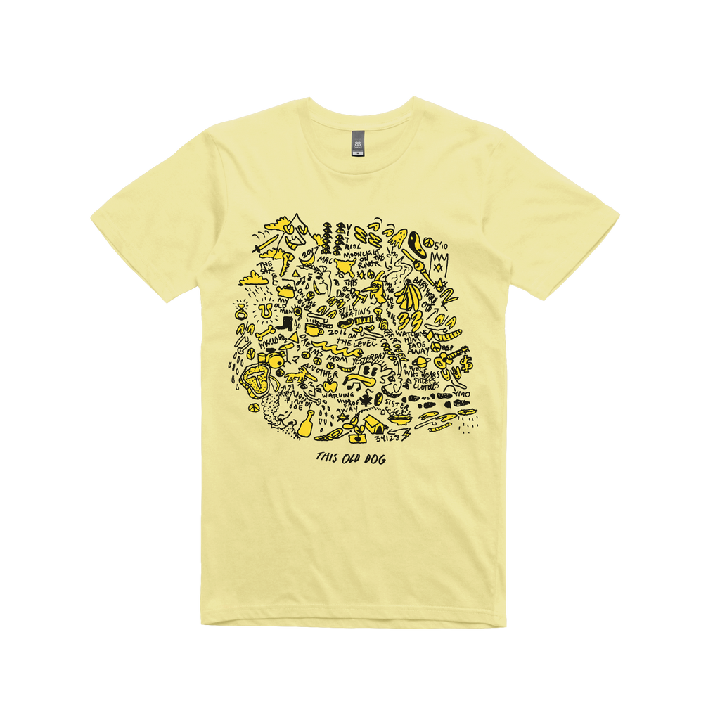 This Old Dog  / Album Art / Yellow T-shirt