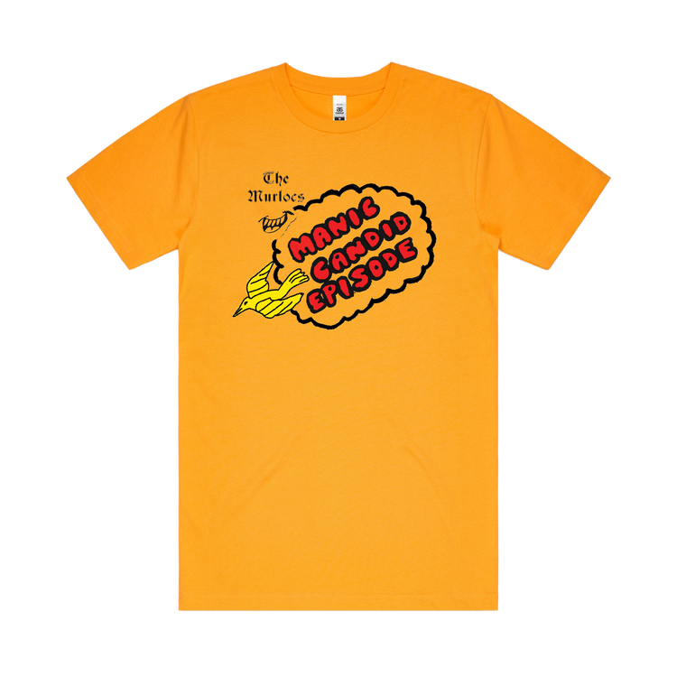The Murlocs / Manic Candid Episode / Gold T-shirt