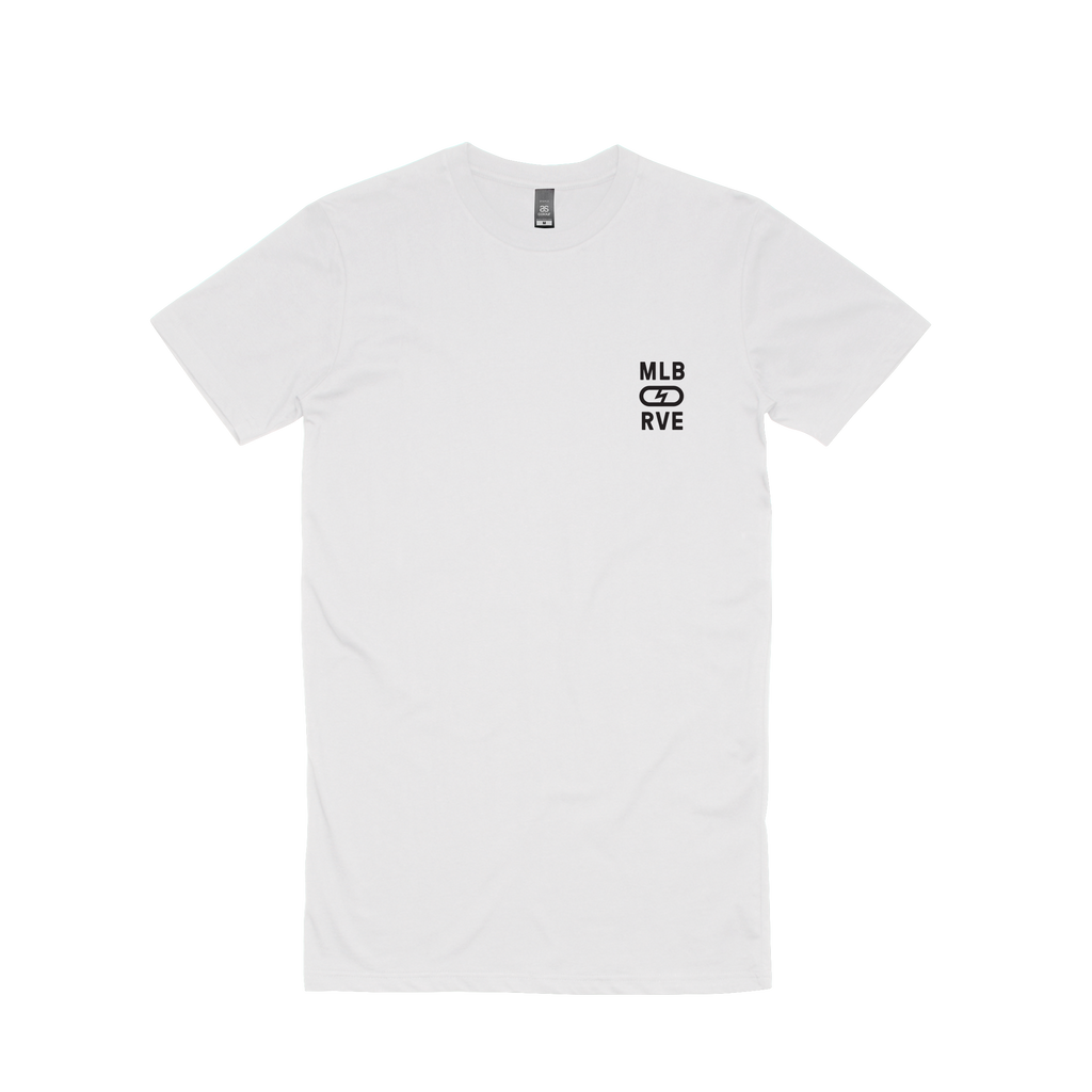 Logo /  White Tall T-shirt