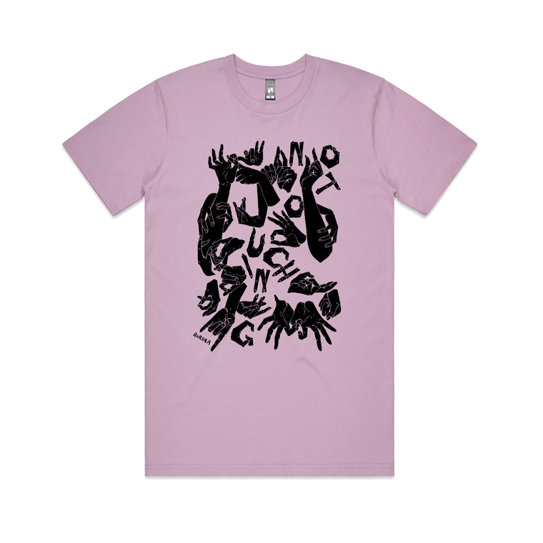 No Touching / Lavender T-shirt