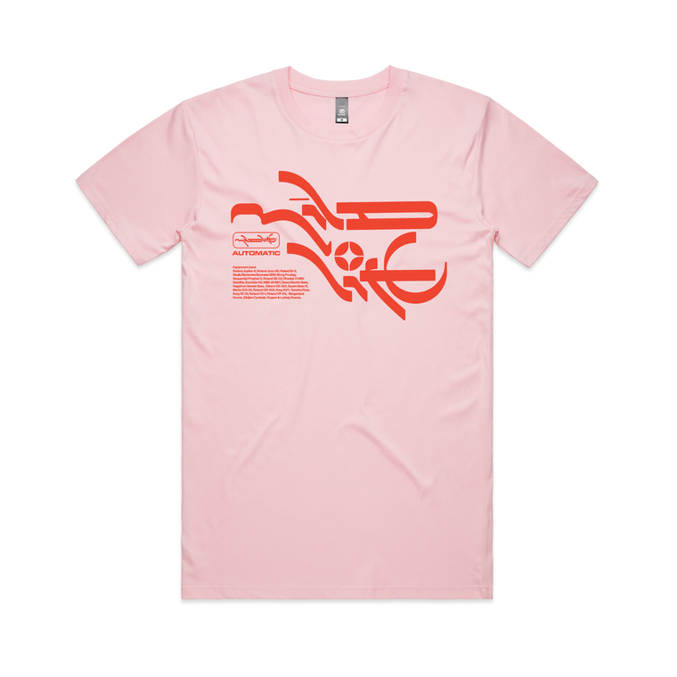Mineral T-shirt / Pink