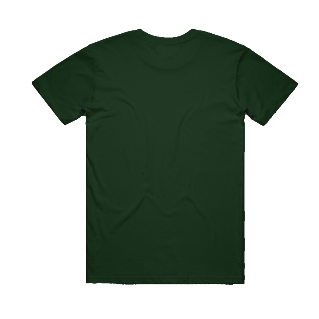 Pomegranate / Green T-shirt
