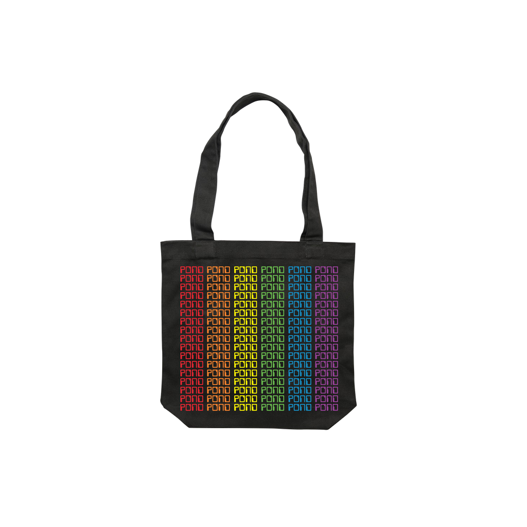 Pride / Black Tote Bag