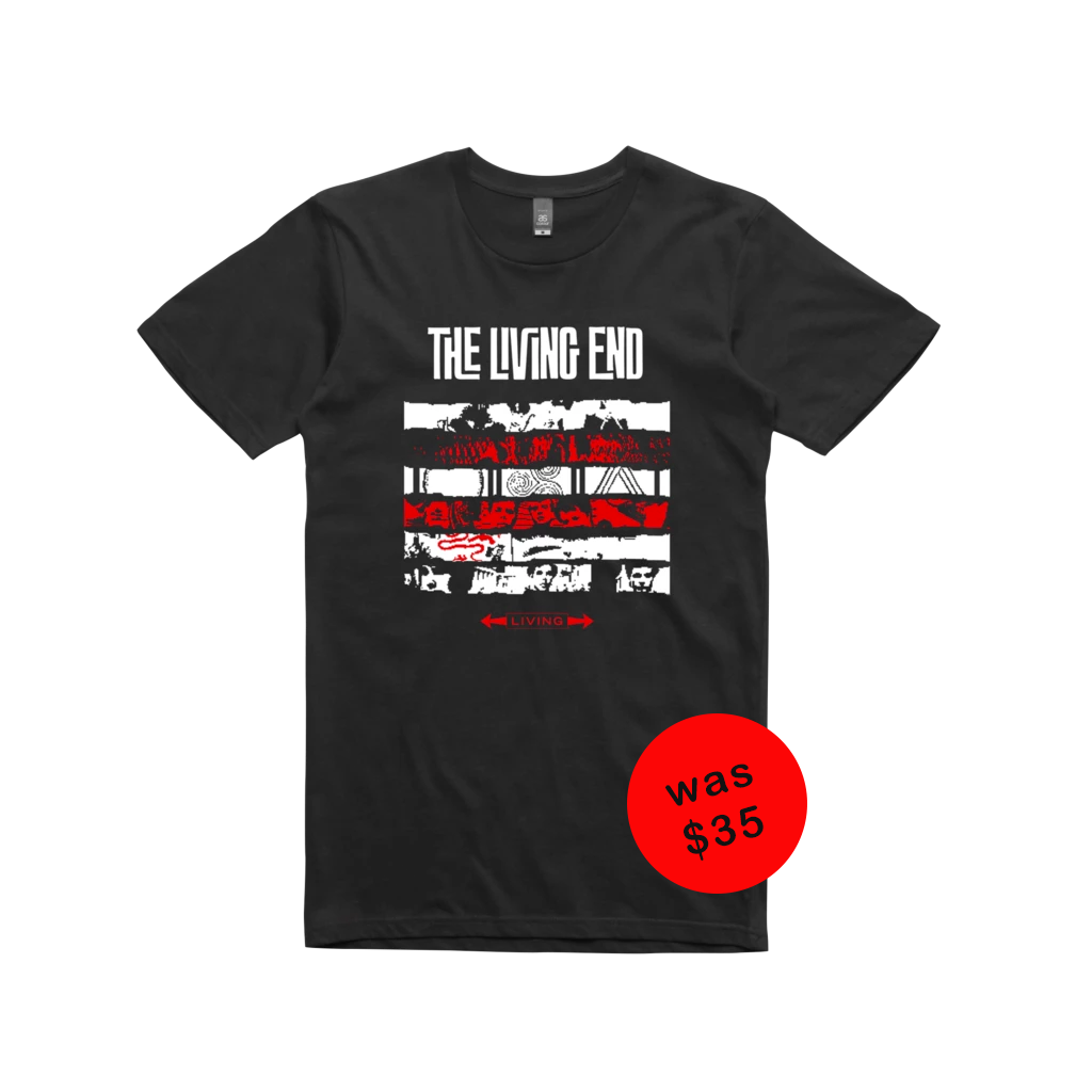 The Living End 'Retrospective Tour' Perth  / Black t-shirt