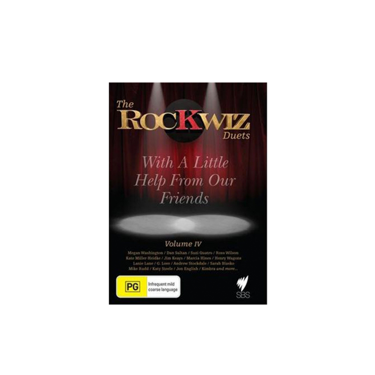 DVD - The RocKwiz Duets - Vol4 / With A Little Help From My Friends