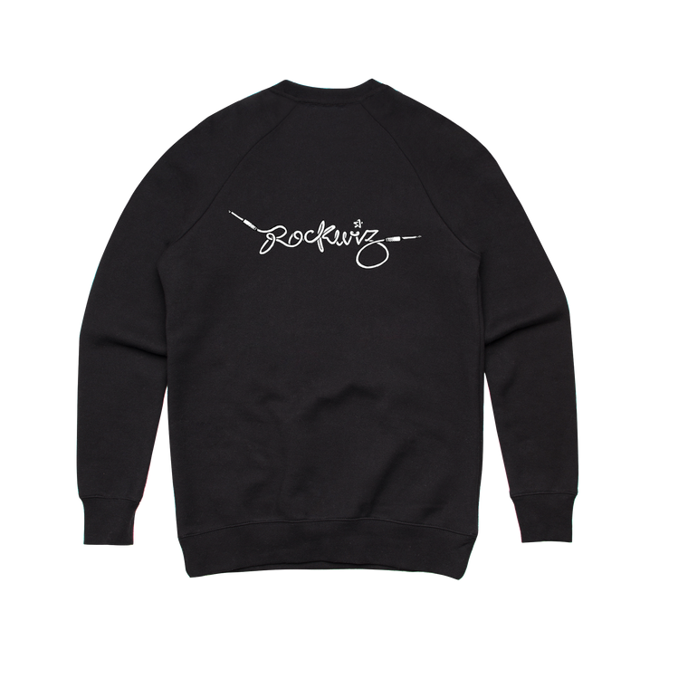 Chord / Black Crewneck Sweater