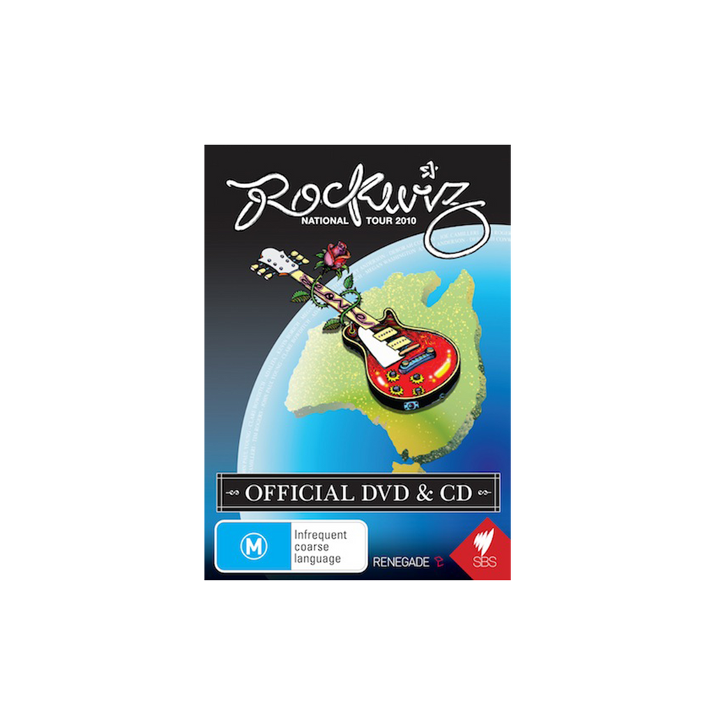 CD & DVD Set - Rockwiz / National Tour 2010