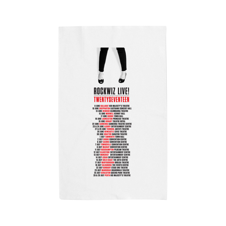 Tour Dates  / Tea Towel