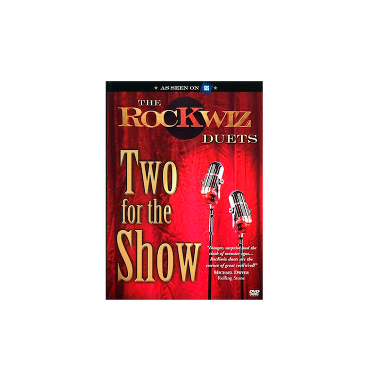 DVD - The RocKwiz Duets - Vol1 / Two For The Show
