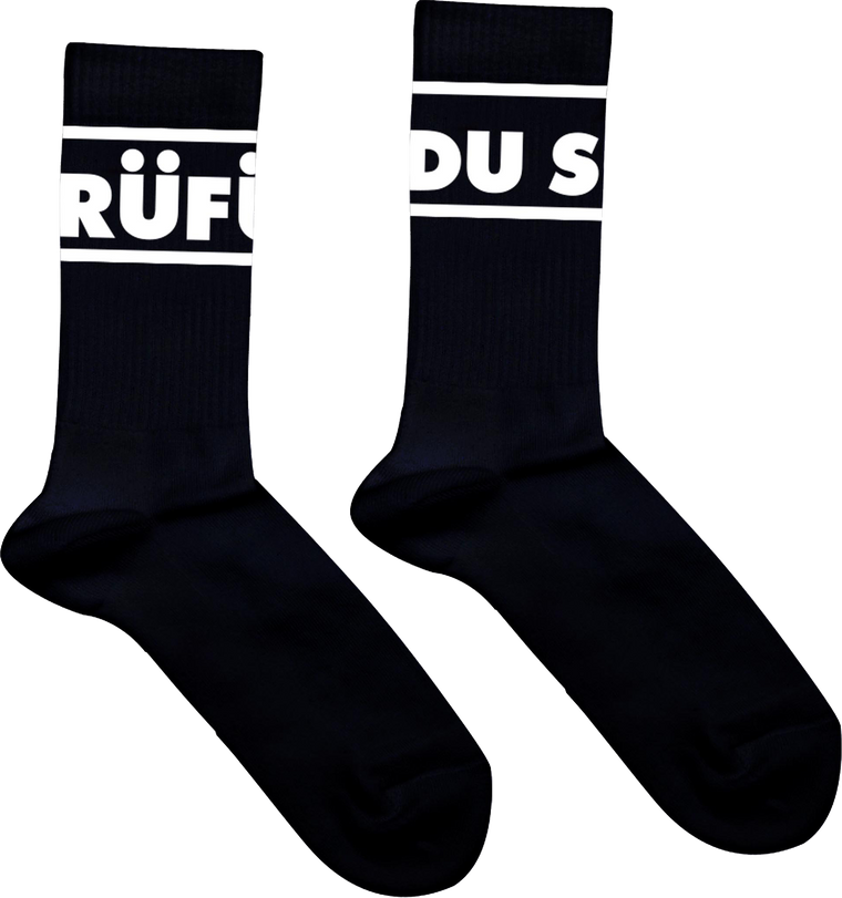 Logo / Black Socks