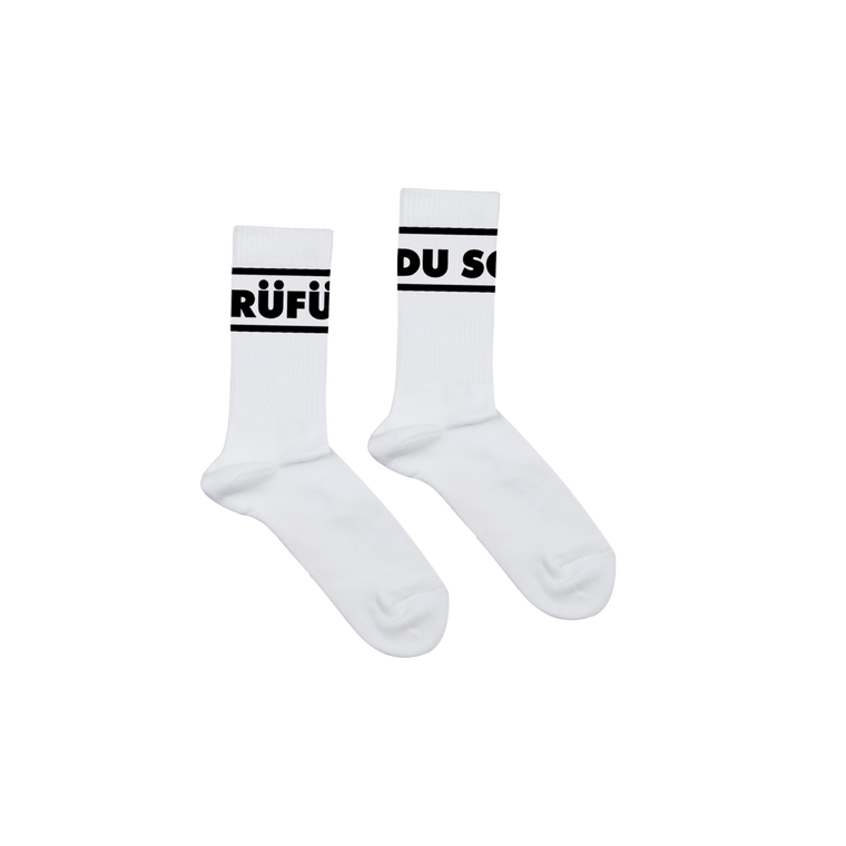 Logo / White Socks