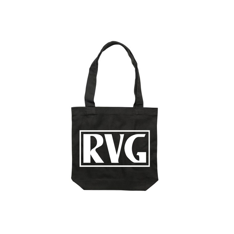 VHS / Black Tote Bag