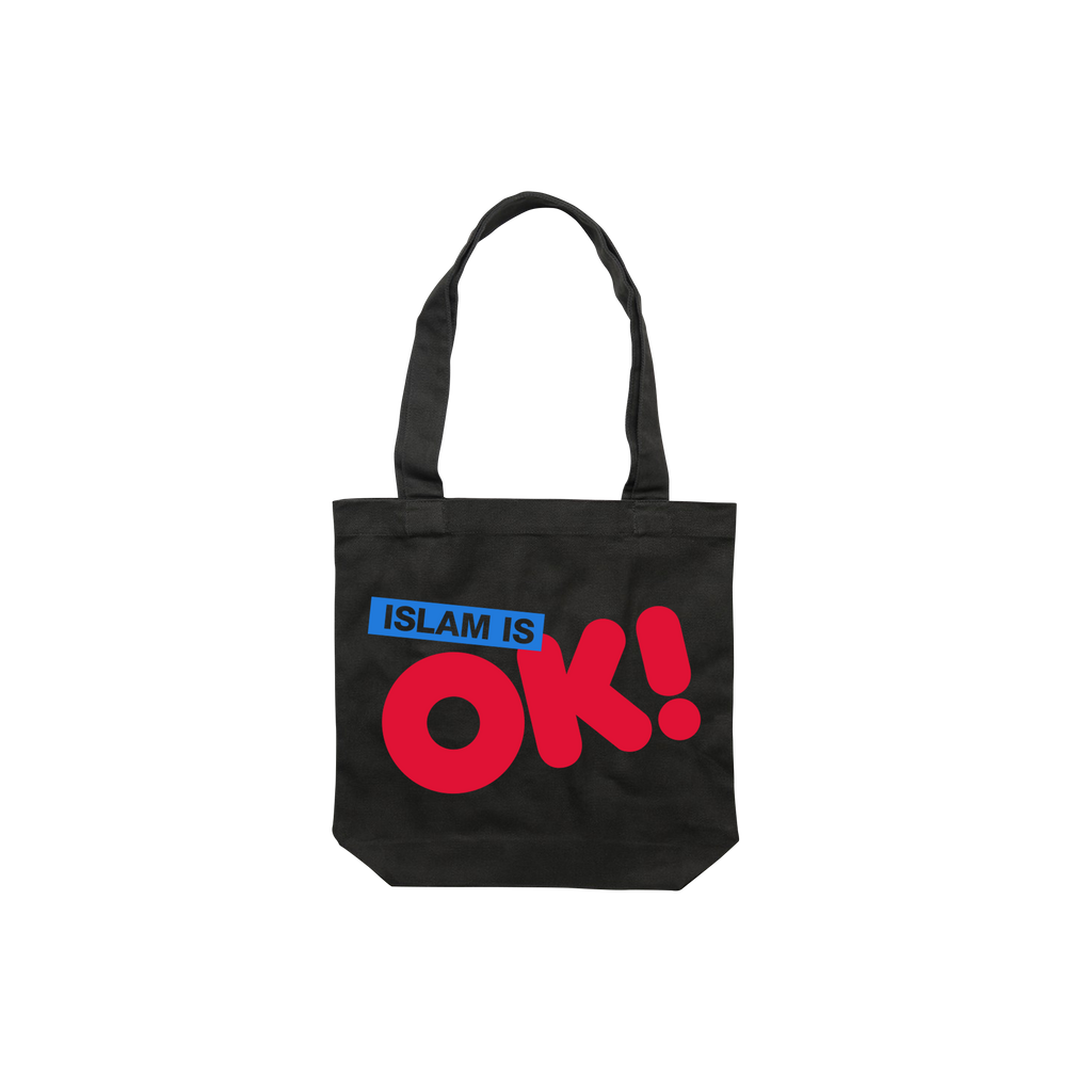 Islam is OK! / Black Tote