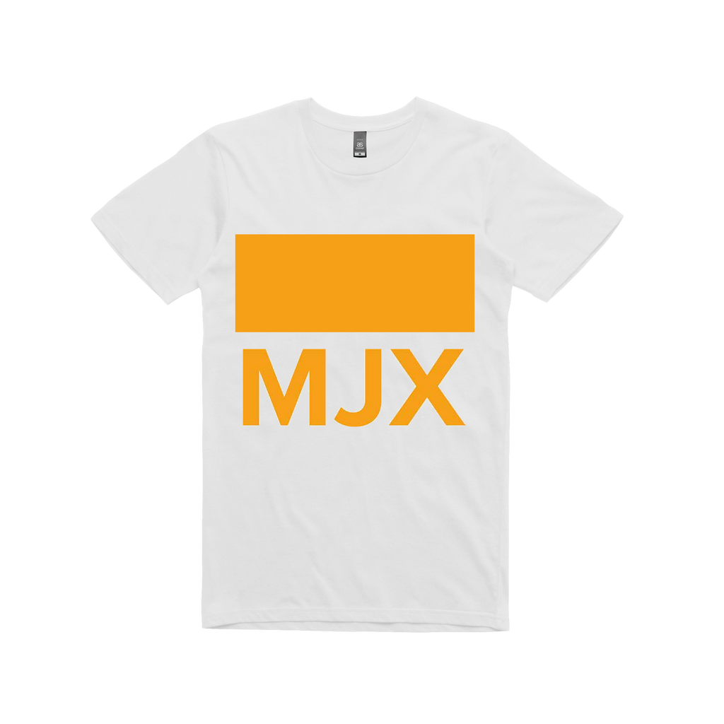 Midnight Juggernauts MJX / White T-shirt
