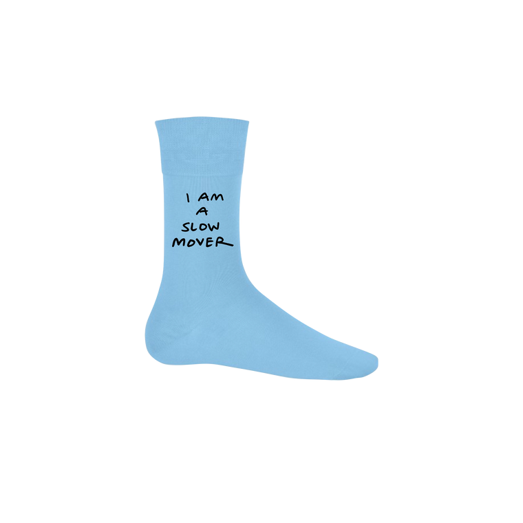 Slow Mover / Blue Socks