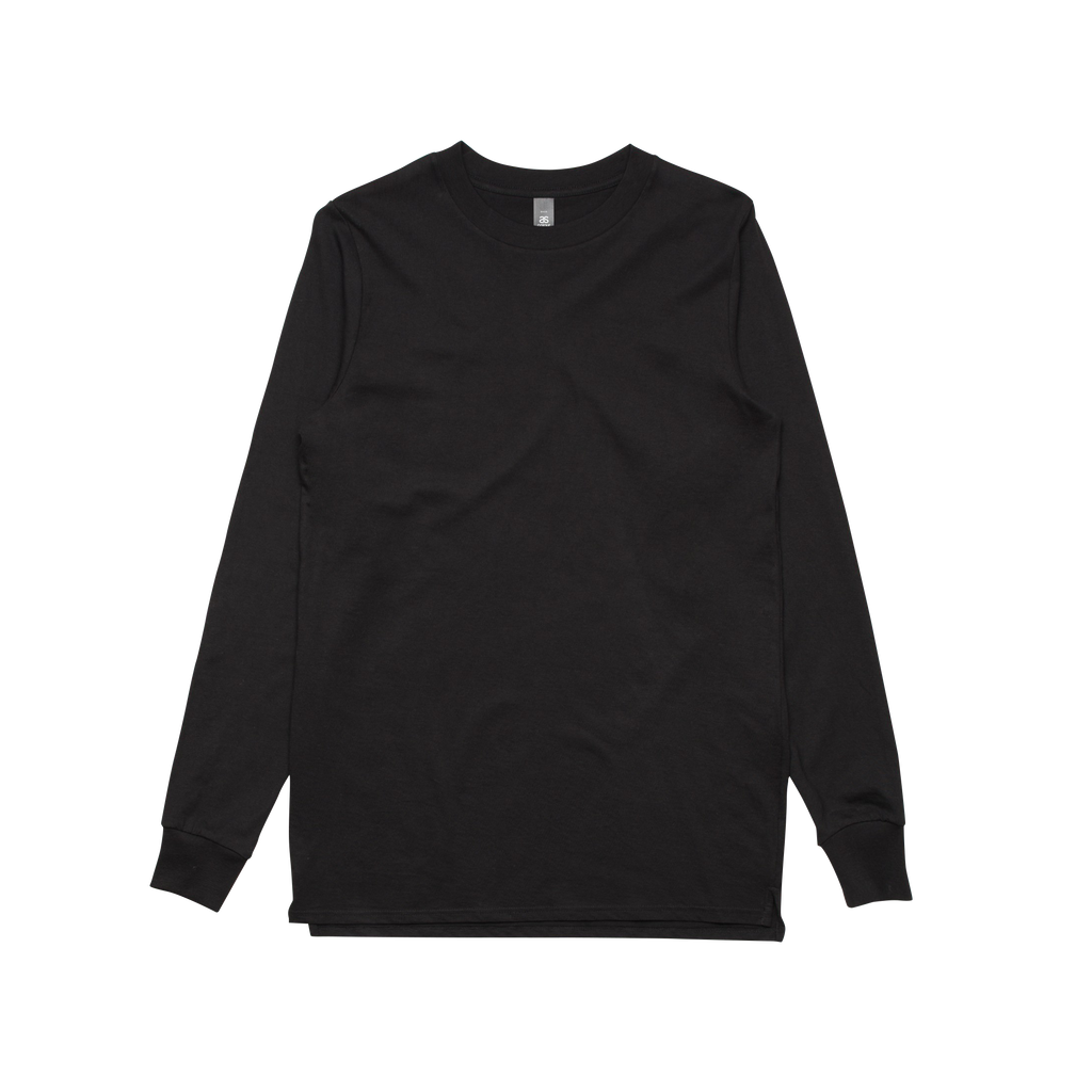 base / plain black longsleeve t-shirt