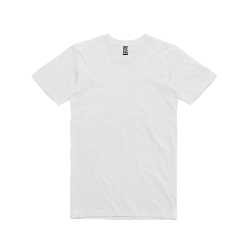 as colour staple white t shirt sound merch com au