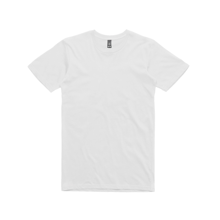 staple / plain white t-shirt