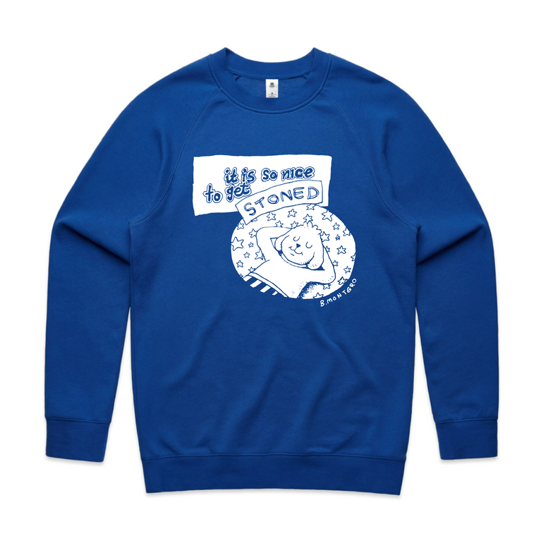 Stoned / Blue Crew Jumper