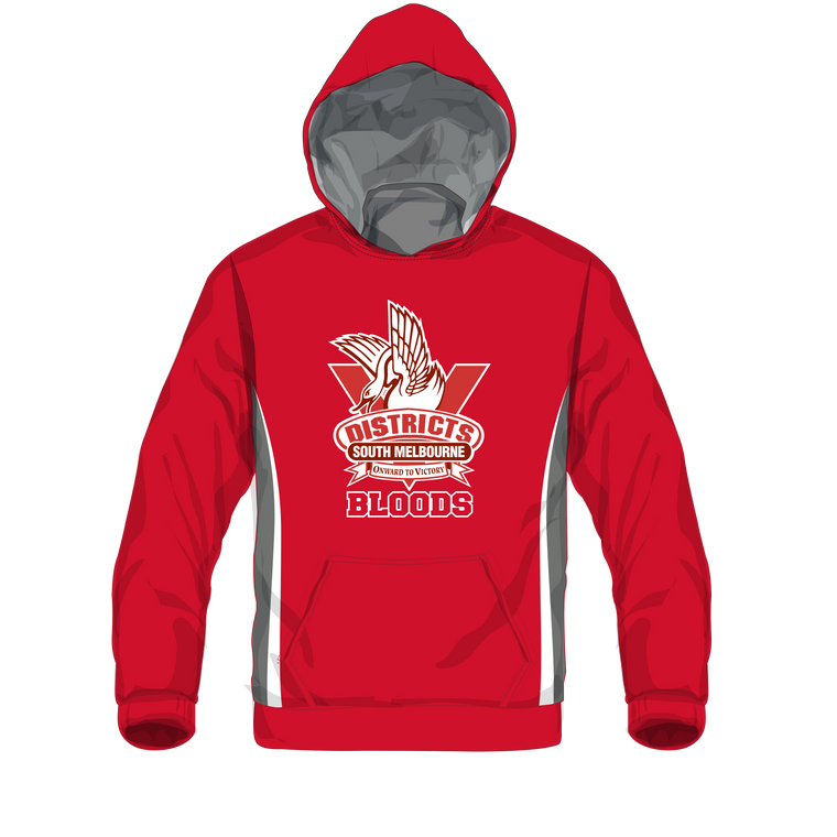 SMDJFC / Red Warm Up Hood