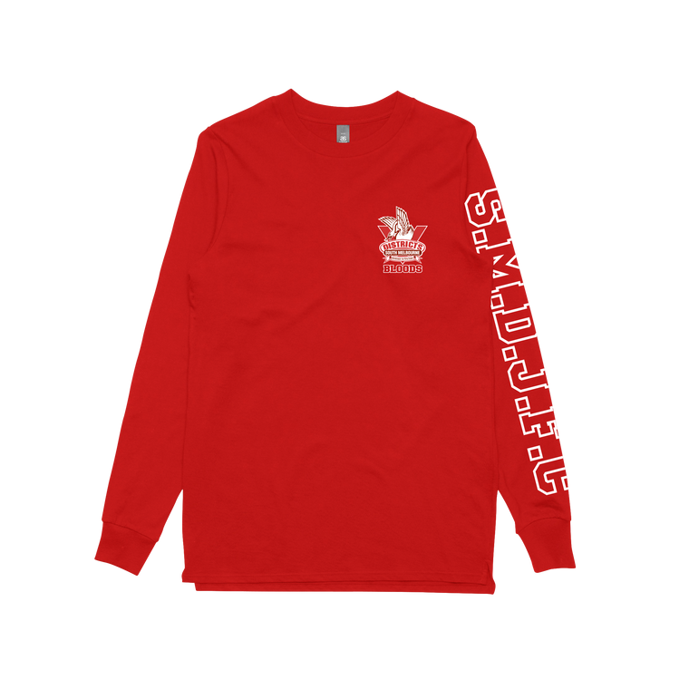 SMDJFC / Red Longsleeve T-shirt
