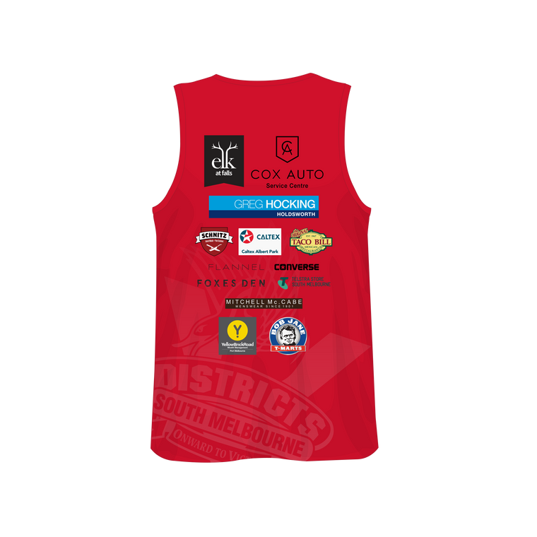SMDJFC Training / Sublimated Singlet