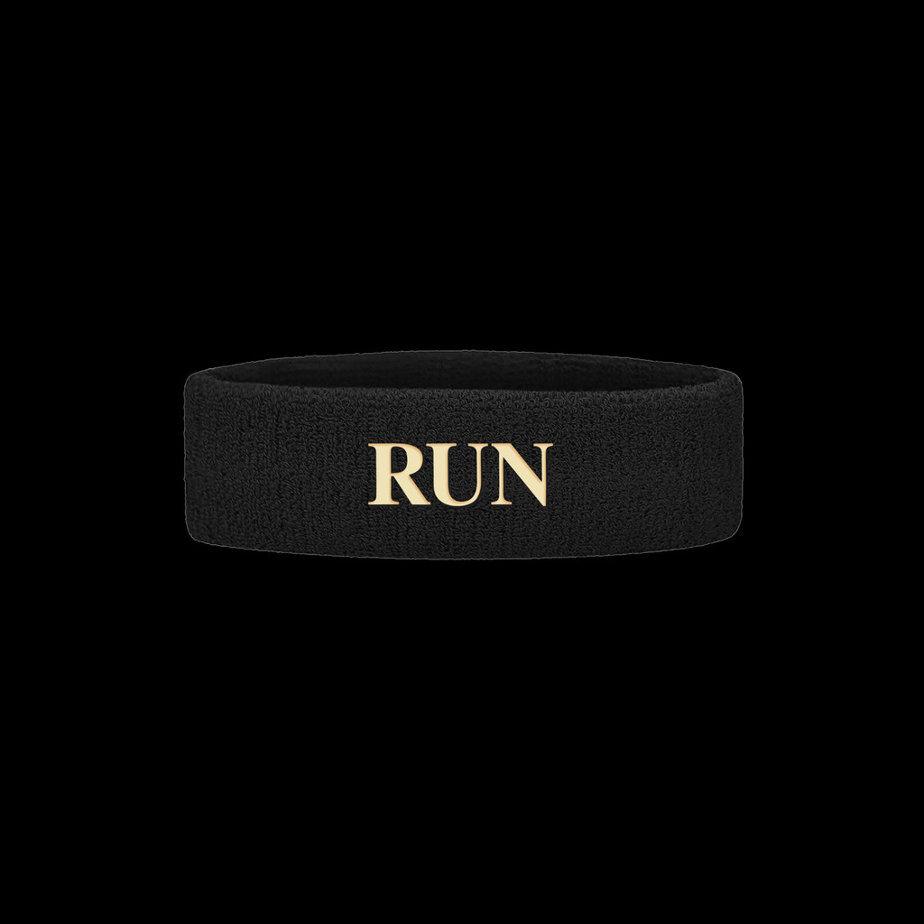 """RUN"" SWEATBAND"
