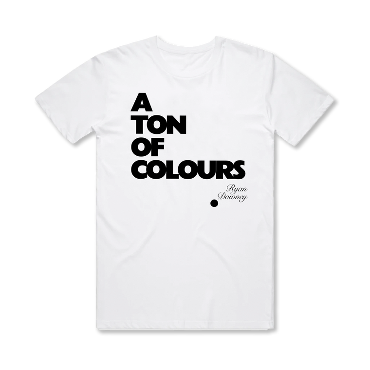 A Ton Of Colours / Vinyl + T-Shirt Bundle ***PRE-ORDER***