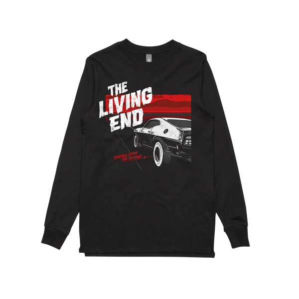 The Living End Highway Tour Longsleeve Black T Shirt