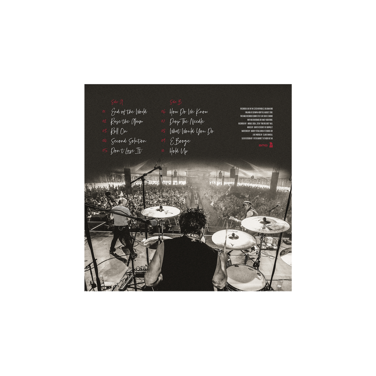 Limited Edition: Live in Europe 2018 / LP 2 x 12""