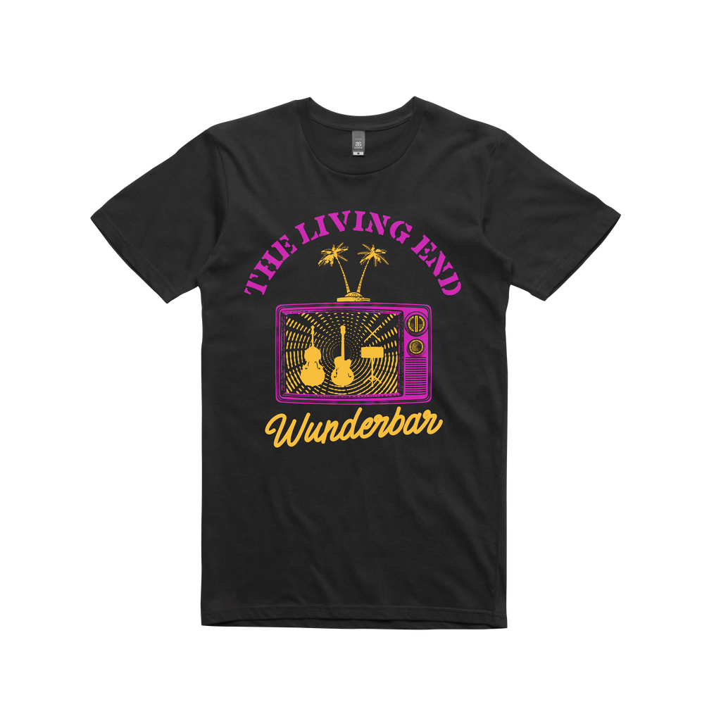 Palm Tree TV Tour / Black T-shirt