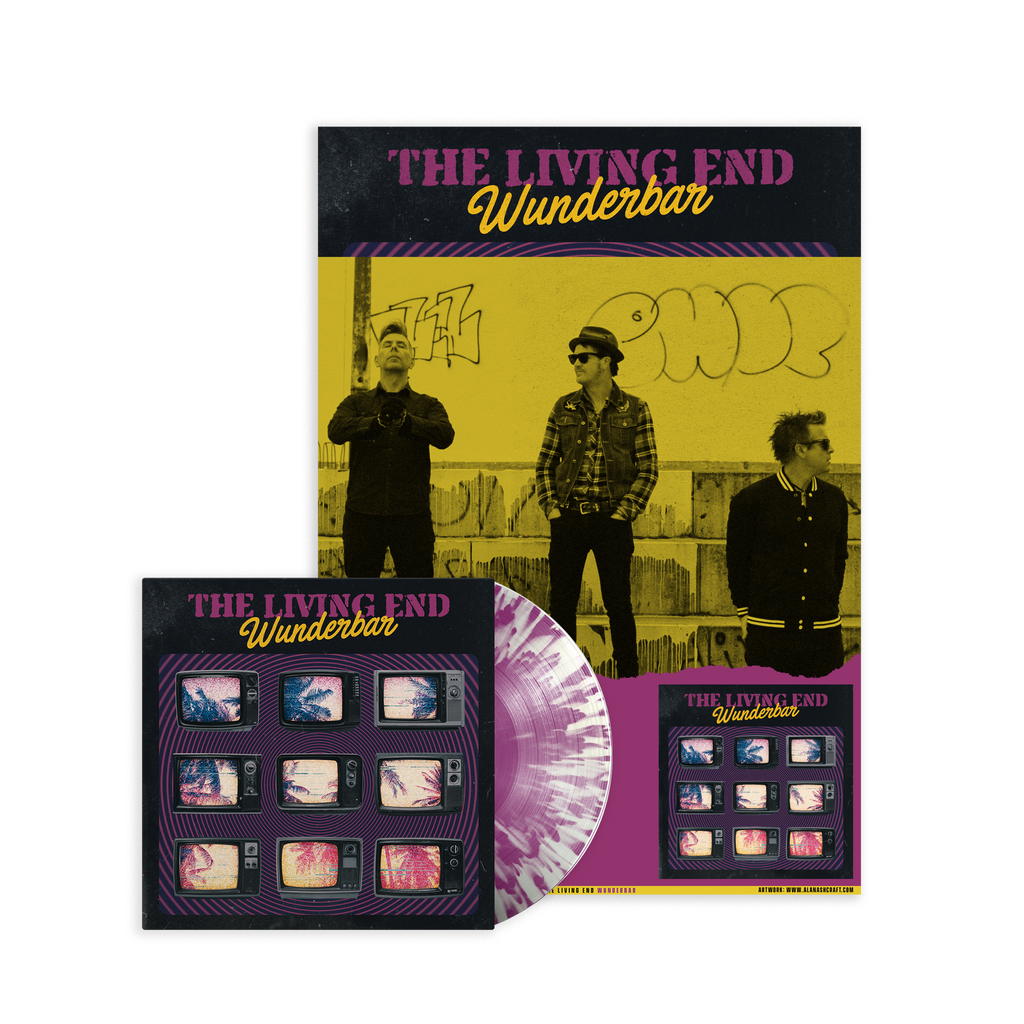 Wunderbar / Signed Poster +  LP Bundle 7