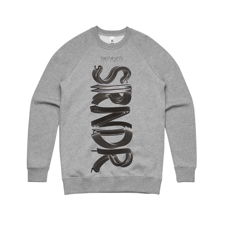 Surrender / Grey Marl Crew Sweater