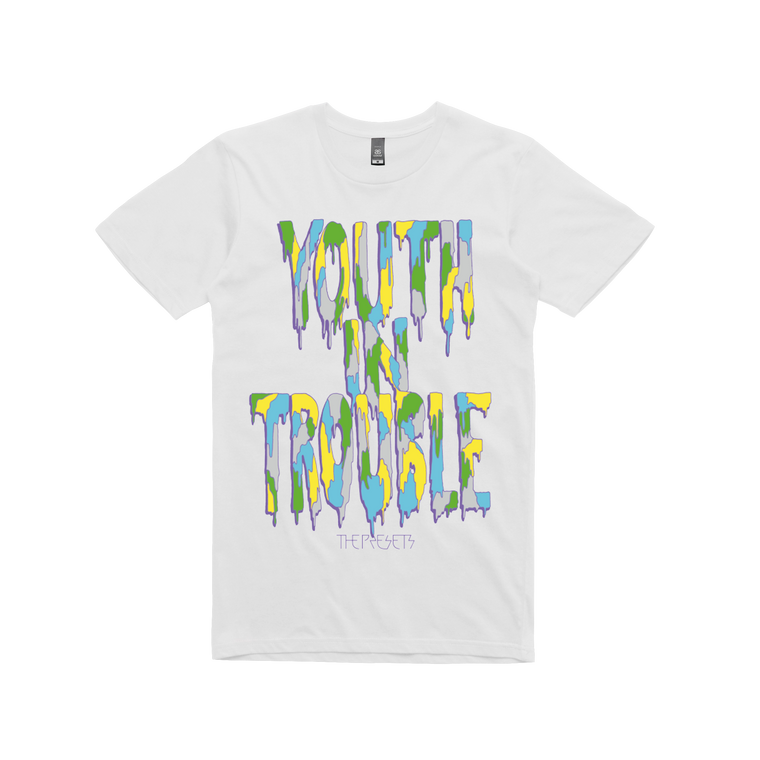 Youth In Trouble / White T-shirt