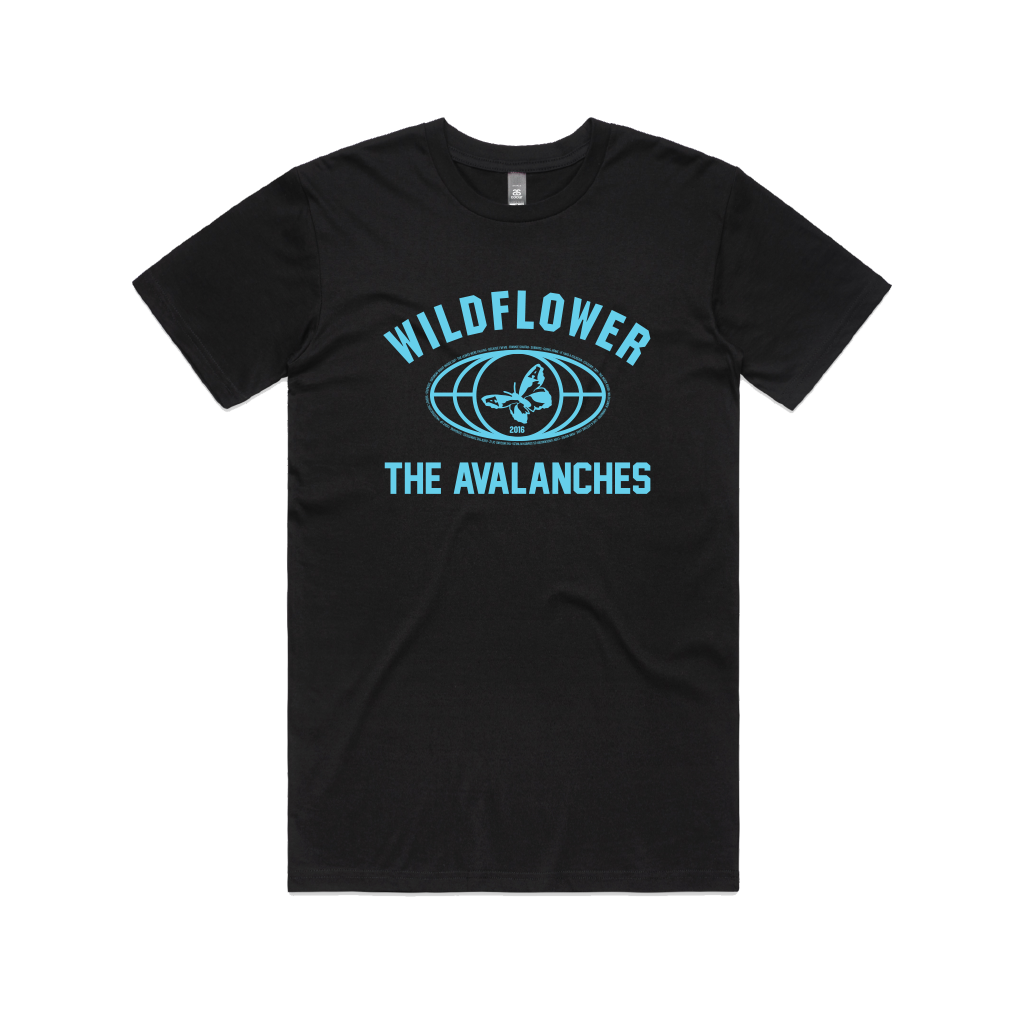 Wildflower / Black T-shirt