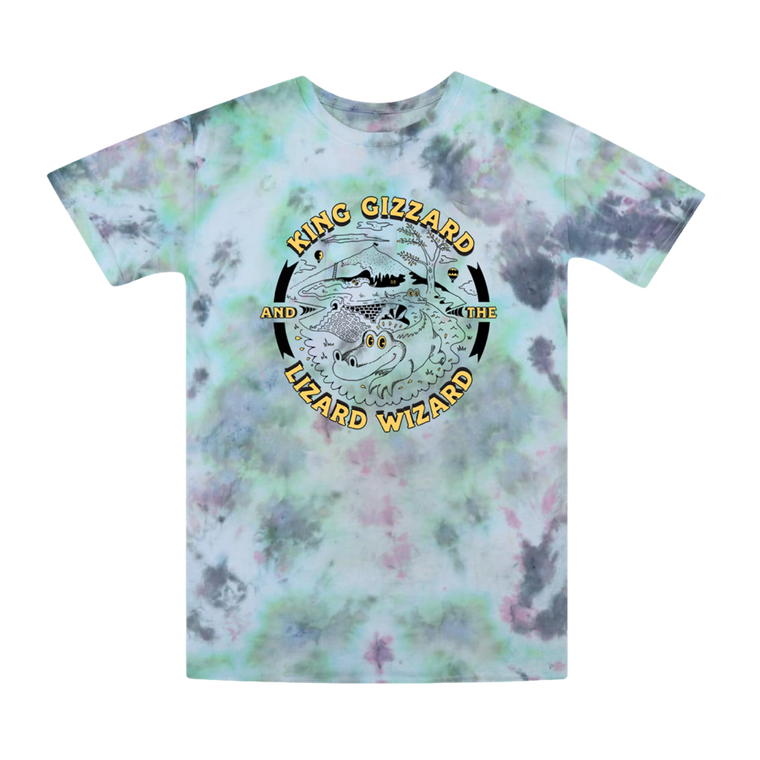 Gator / Green Tie Dye T-shirt + 'Live In San Francisco '16' Digital Download