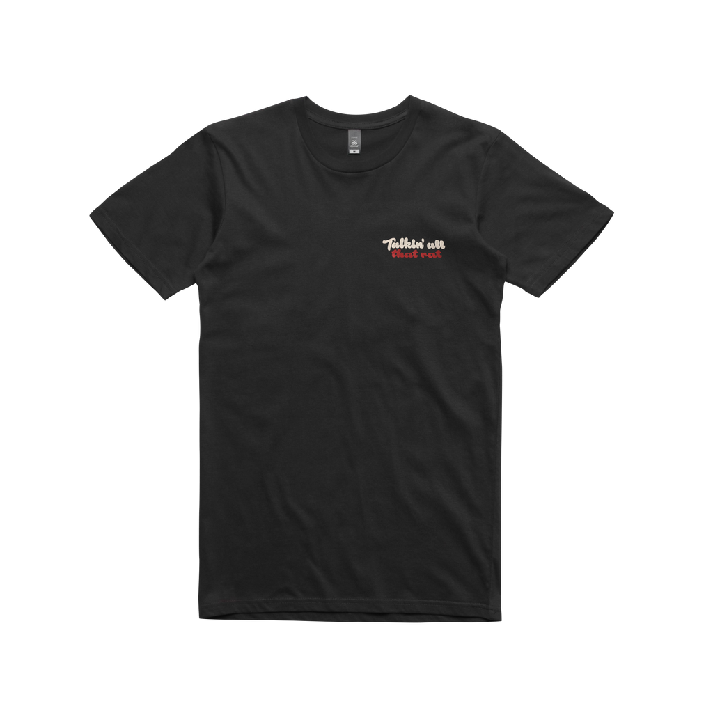 Talkin Details / T-shirt Black