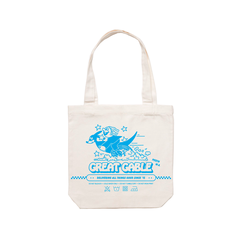 Roo / Cream Tote Bag