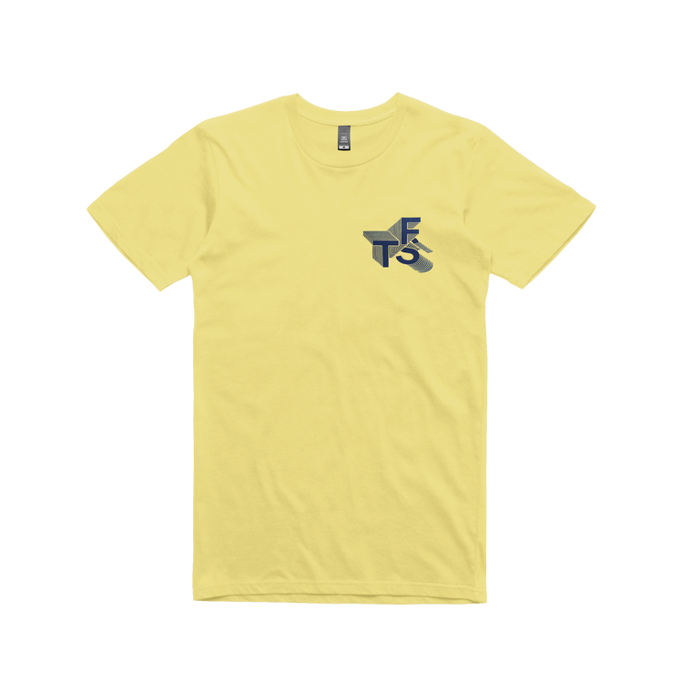 Saturn / Yellow T-shirt