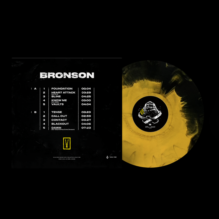 BRONSON Limited Edition / Multi LP Vinyl + Digital Download