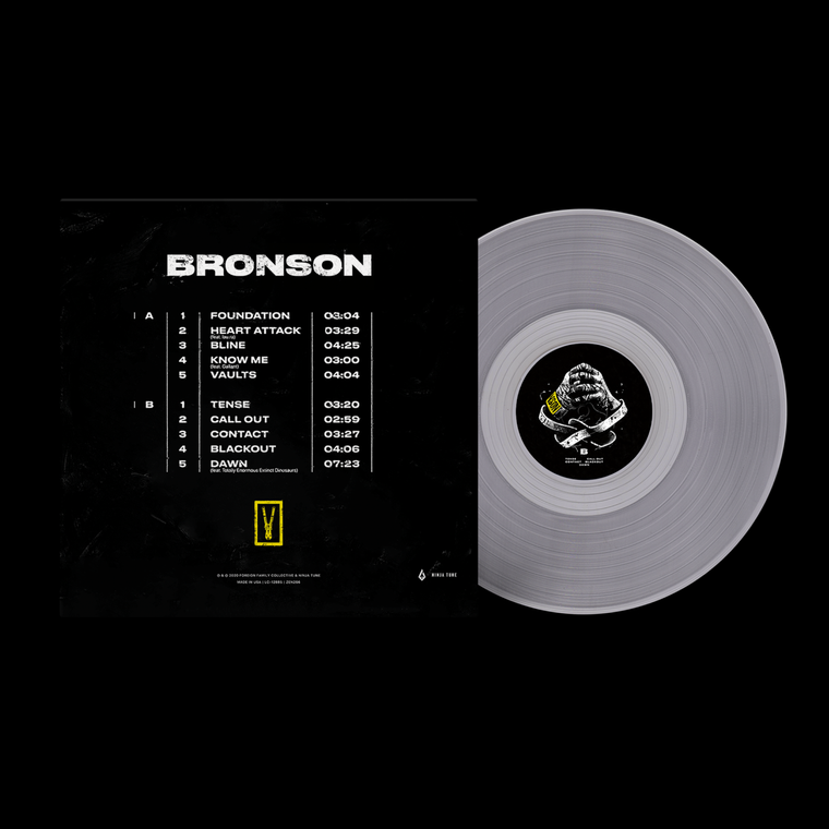 BRONSON Standard Edition / Clear LP Vinyl + Digital Download