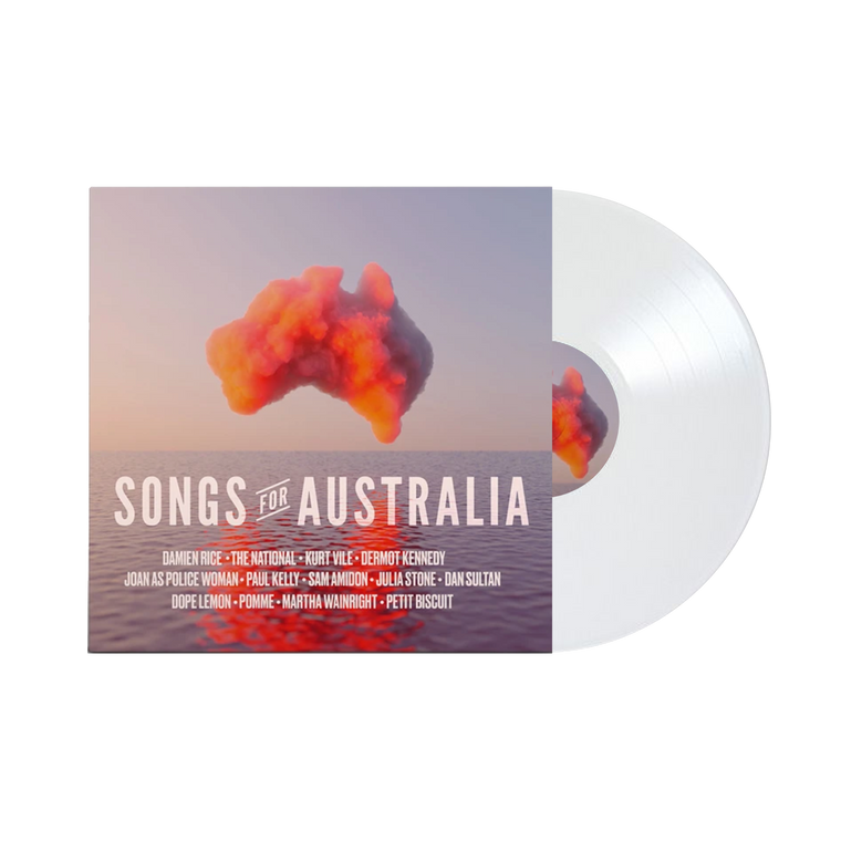 Songs for Australia / Natural T-shirt + Vinyl + Tote Bundle