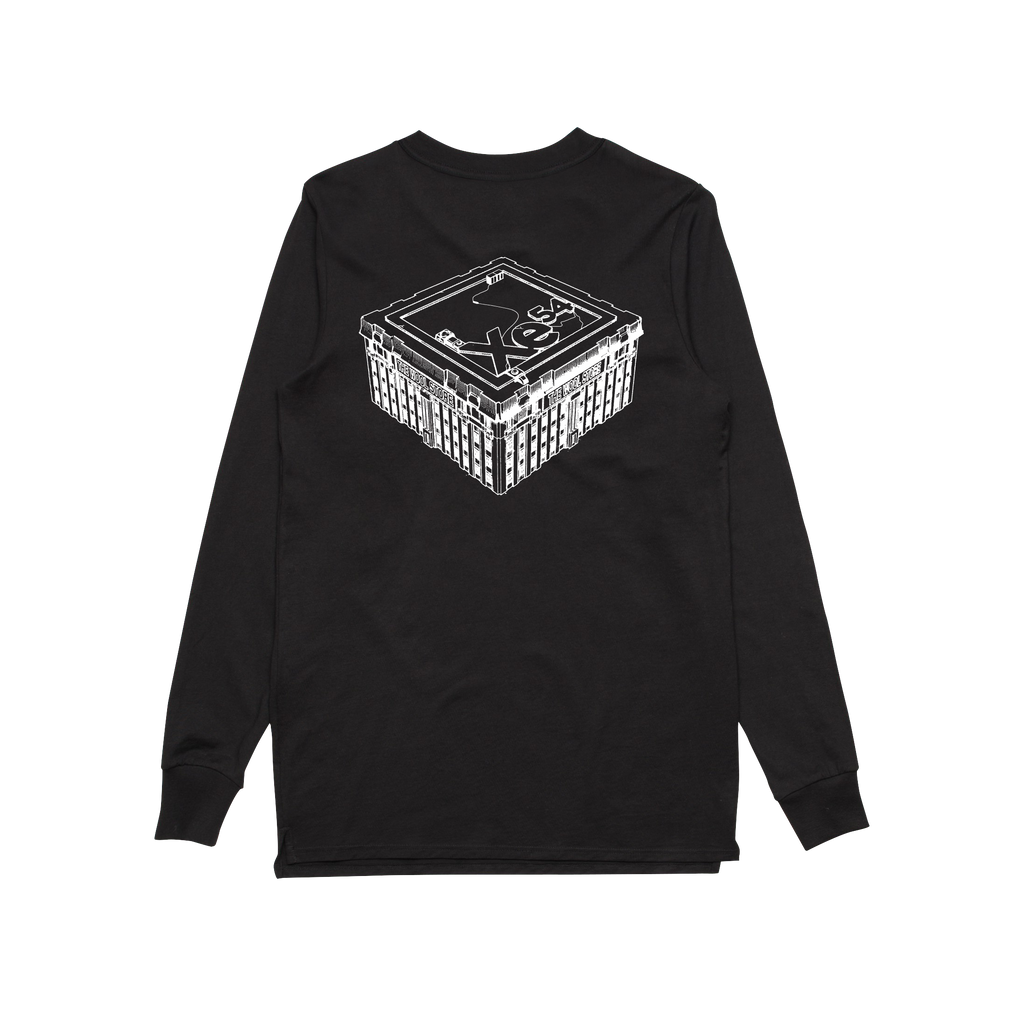 The Wool Store / Black Longsleeve T-shirt