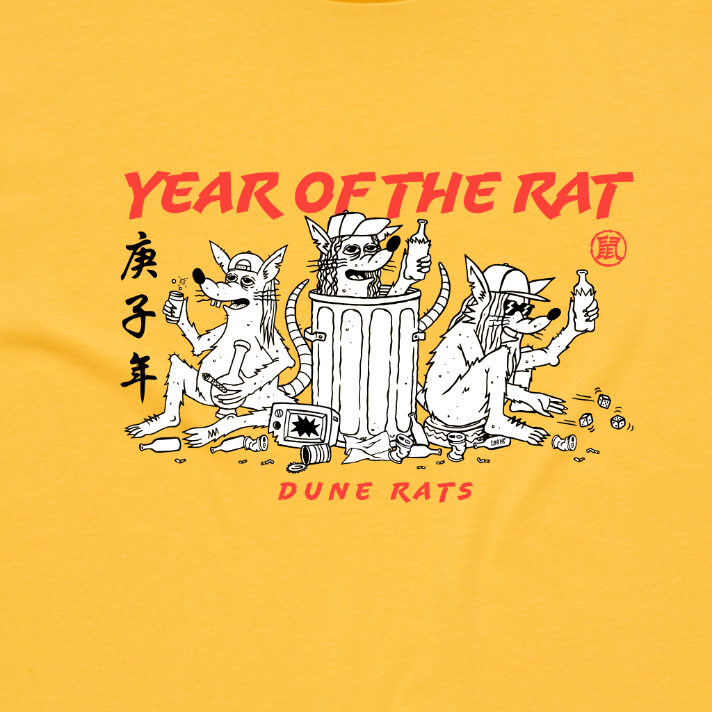 Year of the Rat / Yellow T-shirt