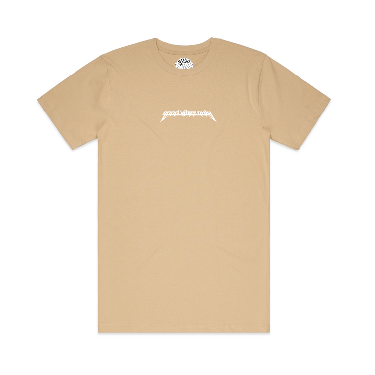 Yeezus Mens T-Shirt / Tan