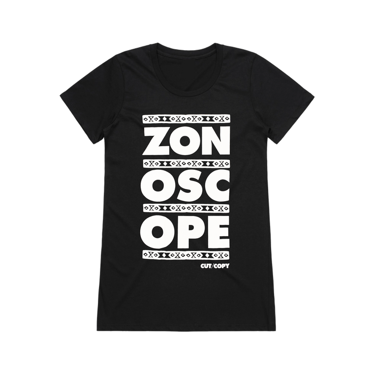 Zonoscope / Black Womens T-Shirt
